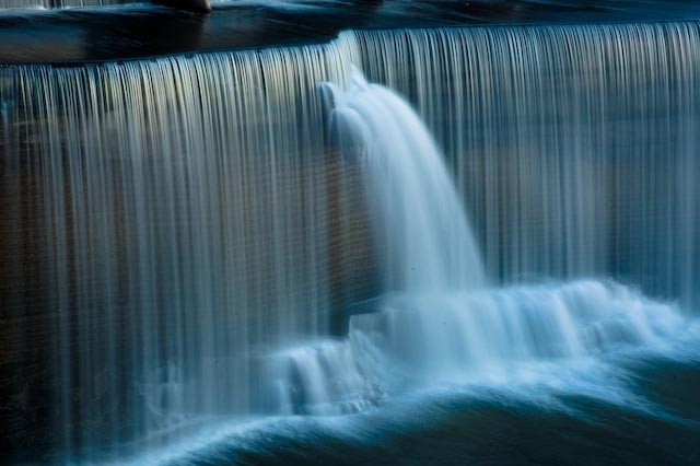 Information flows like a waterfall, The Leader's Digest
