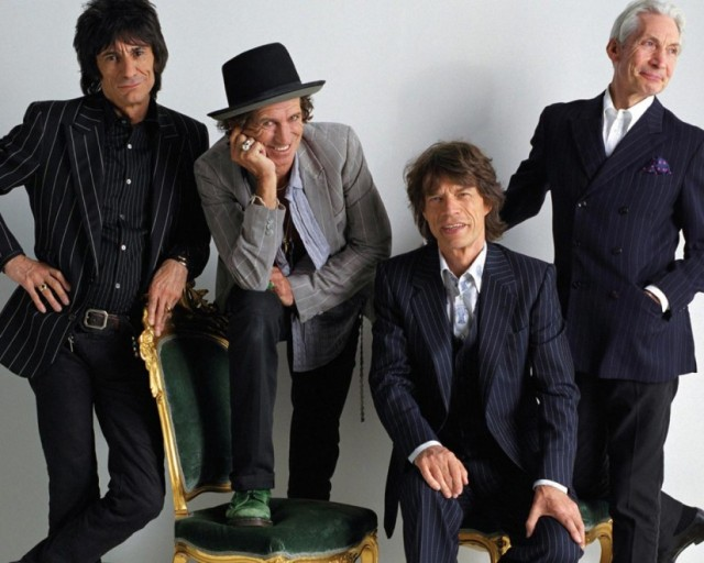 The Rolling Stones - still going strong after fifty years.