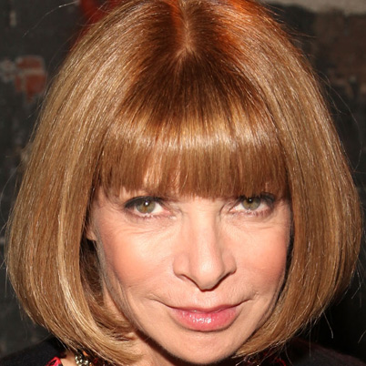 Anna Wintour - editor of Vogue