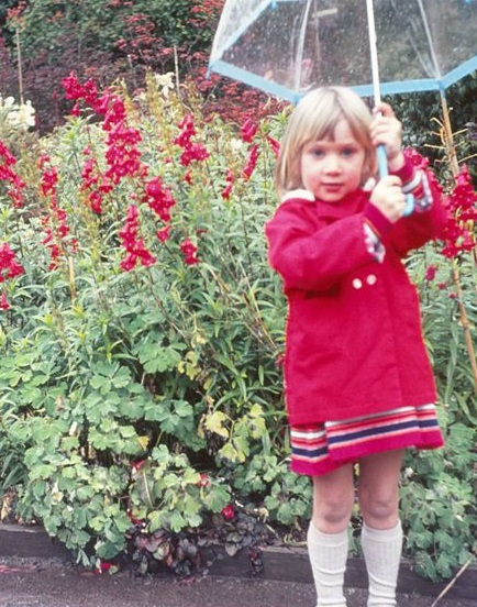 Suzi McAlpine at age four - The Leader's Digest